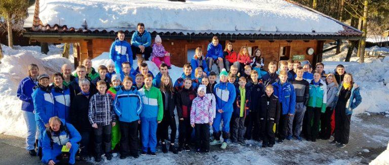 Kinder und Jugend Skicamp Inzell Gruppenbild
